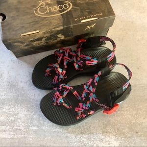 Chaco ZX2 Classic Sandal Band Magenta Rose NEW